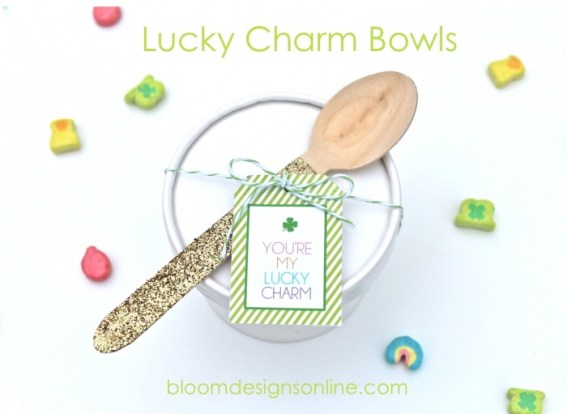 Lucky Charm Bowls via Bloom Designs