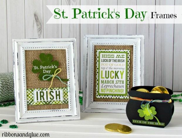 St Patrick's Day Frames