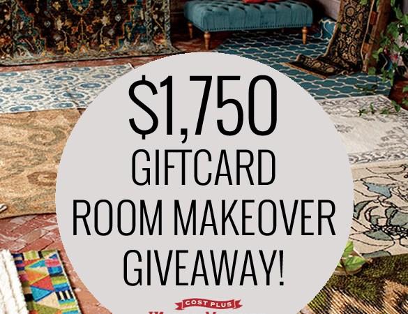 World Market Room Makeover Giveaway
