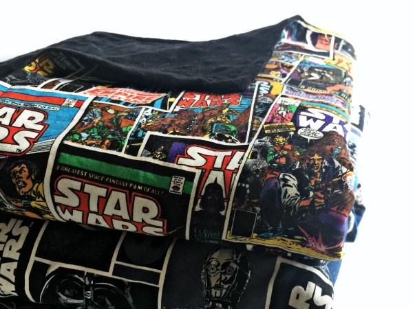 30-Minute Star Wars Snuggle Blanket Tutorial