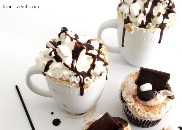 TruMoo S'mores Cupcakes