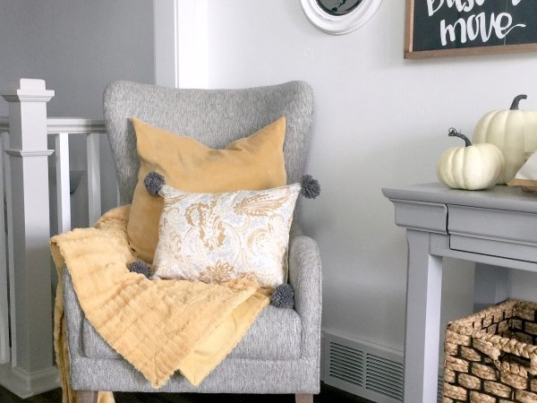 Fall Placemat Pillow