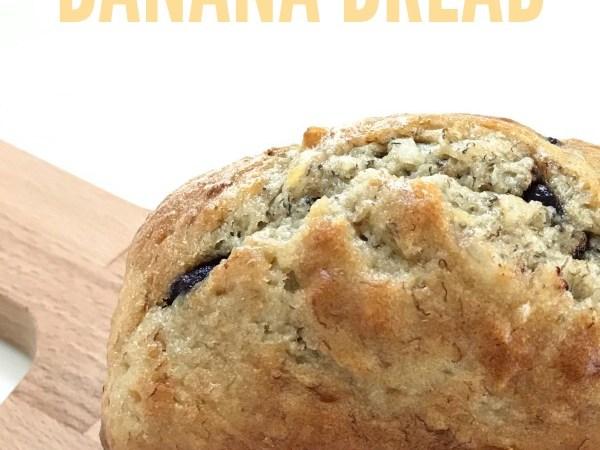 Coconut Chocolate Chip Banana Bread Recipe