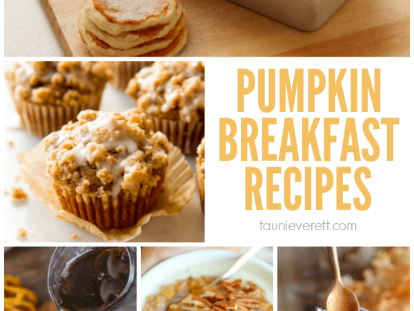 12 Perfect Pumpkin Spice Breakfast Recipes