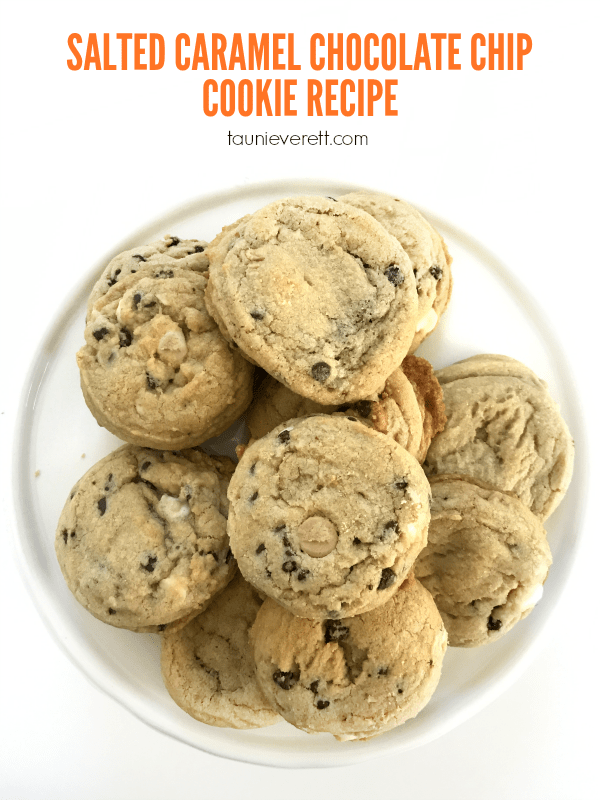Salted Caramel Chocolate Chip Cookie Recipe