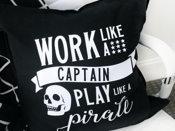 DIY Play Like a Pirate Pillow