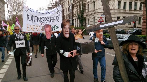 Energiewende retten Demo 22.03.2014