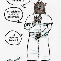 Le Pape et le Cuisinier