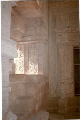 Sunlight in the temple
