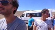 Karin lake / débarquement des équipes sur la zone de camp