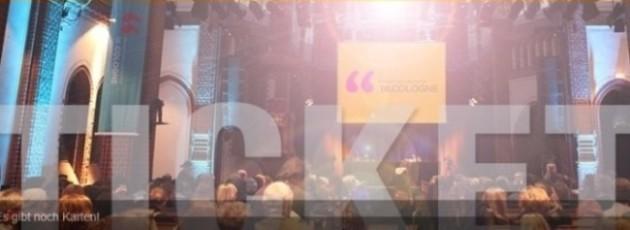 lit.COLOGNE - das größte Literaturfestival Europas - vom 8. bis 19. März in Köln