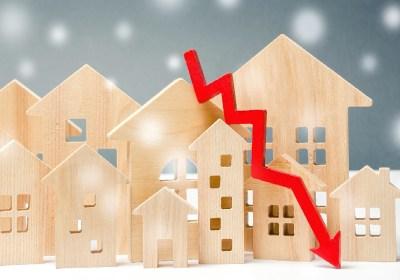 Les demandes de prêt hypothécaire pour l'achat d'une maison ont chuté