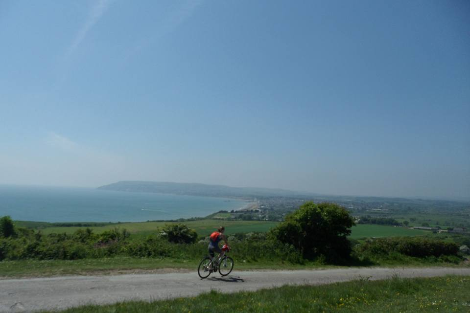 Cycle hire isle of wight Esthers picture