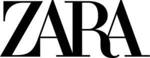 značka Zara logo