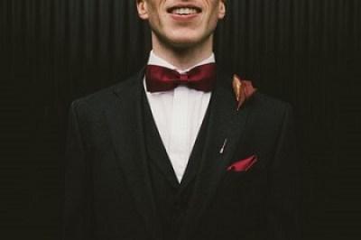 black tie na svadbu
