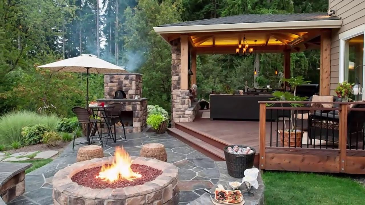 10 Stunning Backyard Patio Design Ideas Youtube inside Backyard Patio Ideas Cheap