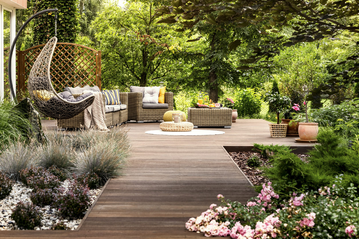 101 Backyard Landscaping Ideas For Your Home Photos intended for Patio Deck Ideas Backyard