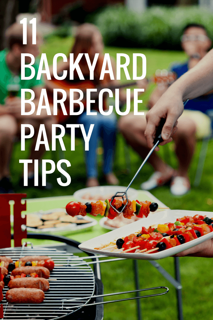 11 Backyard Barbecue Party Tips To Impress Your Guests Without with regard to Backyard Bbq Party Ideas