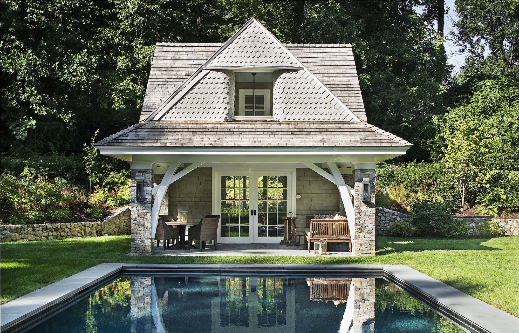 11 Best Pool House Designs Pool House Ideas Design Inspiration within Backyard Pool House Ideas