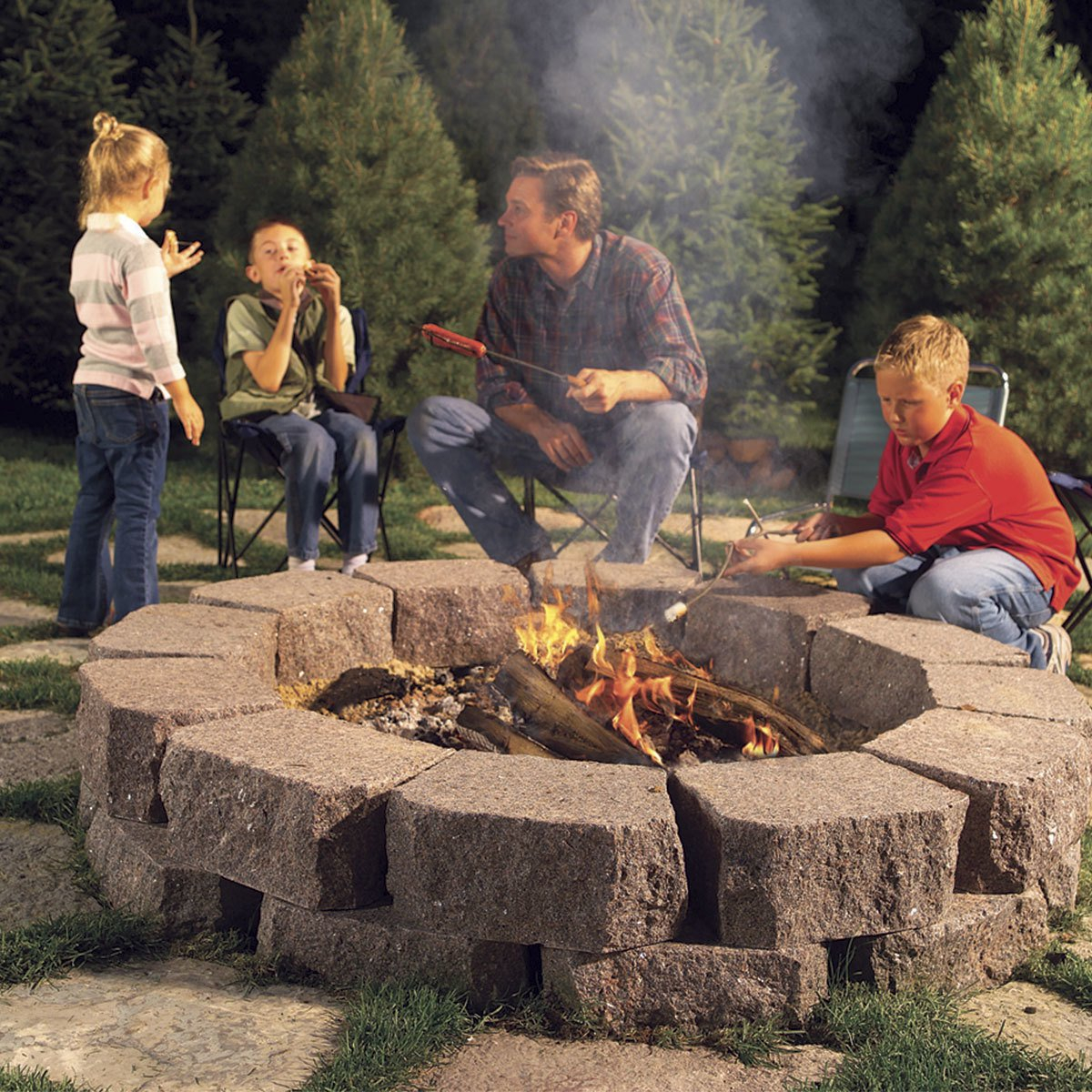 12 Great Backyard Fire Pit Ideas The Family Handyman intended for Ideas For Fire Pits In Backyard