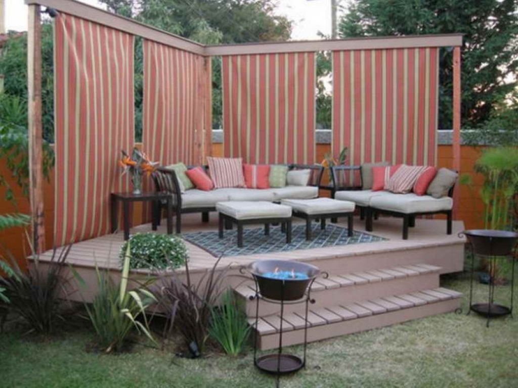 12 Outstanding Backyard Deck Ideas That You Can Proud Of Backyard intended for 10 Clever Initiatives of How to Craft Small Backyard Privacy Ideas