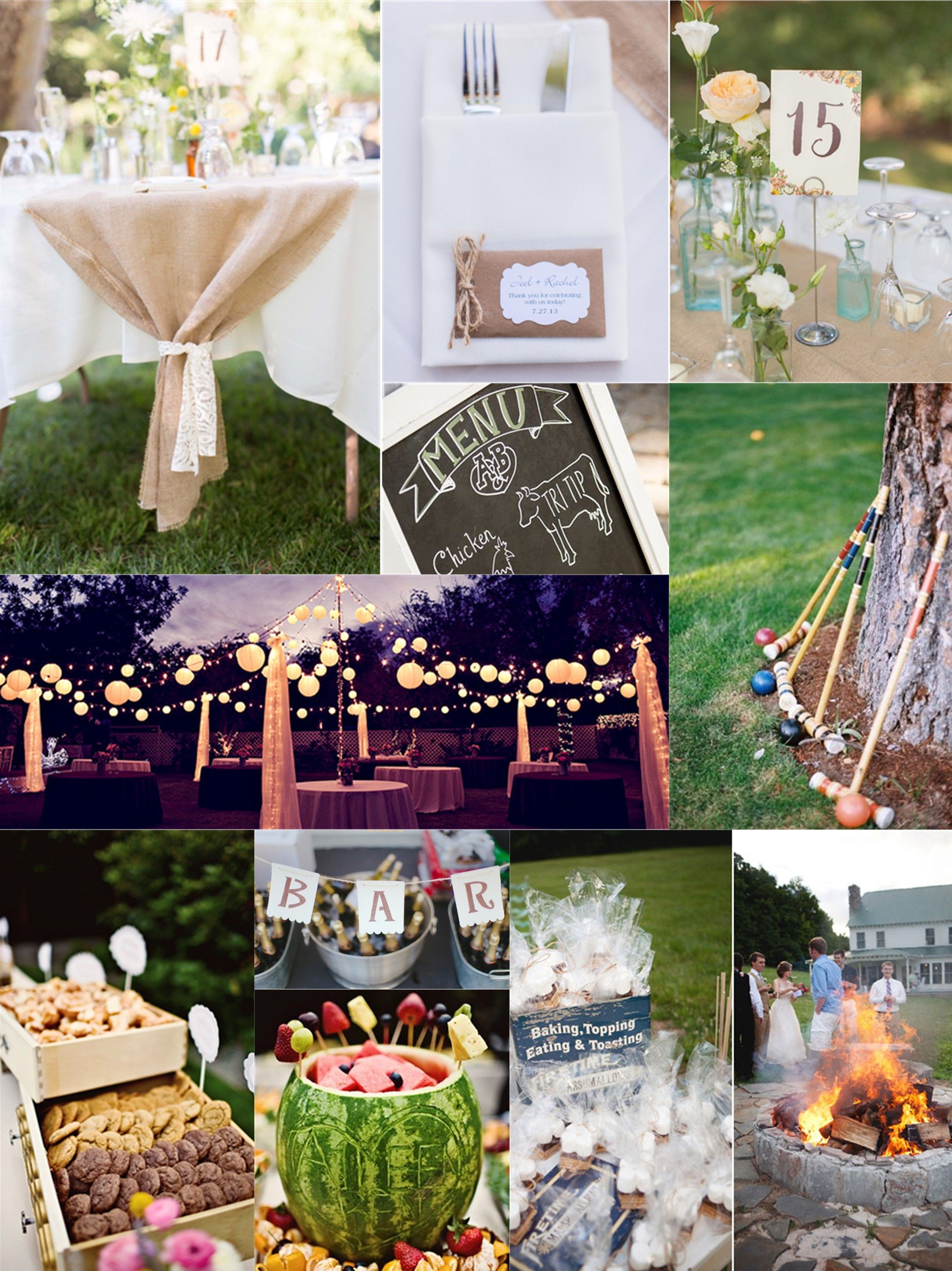 13 Genius Initiatives Of How To Make Inexpensive Backyard Wedding pertaining to Simple Backyard Wedding Ideas