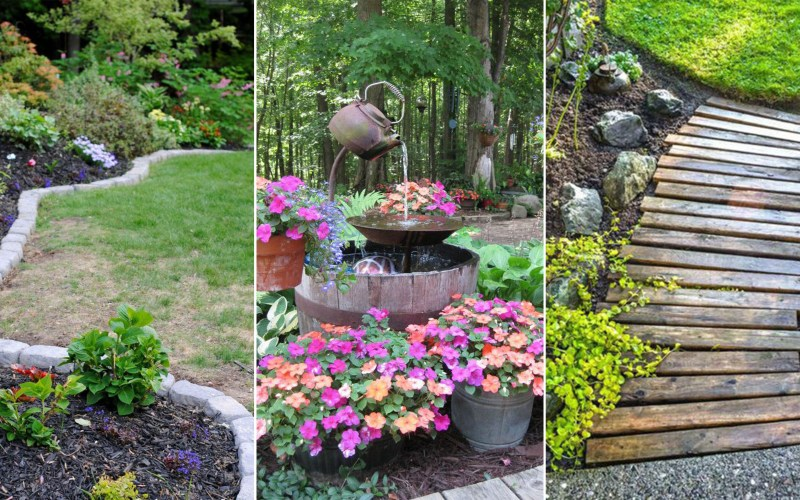 14 Cheap Landscaping Ideas Budget Friendly Landscape Tips For for 11 Some of the Coolest Tricks of How to Improve Backyard Landscaping Tips