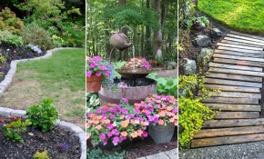 14 Cheap Landscaping Ideas Budget Friendly Landscape Tips For pertaining to 15 Genius Concepts of How to Make Images Of Backyard Landscaping