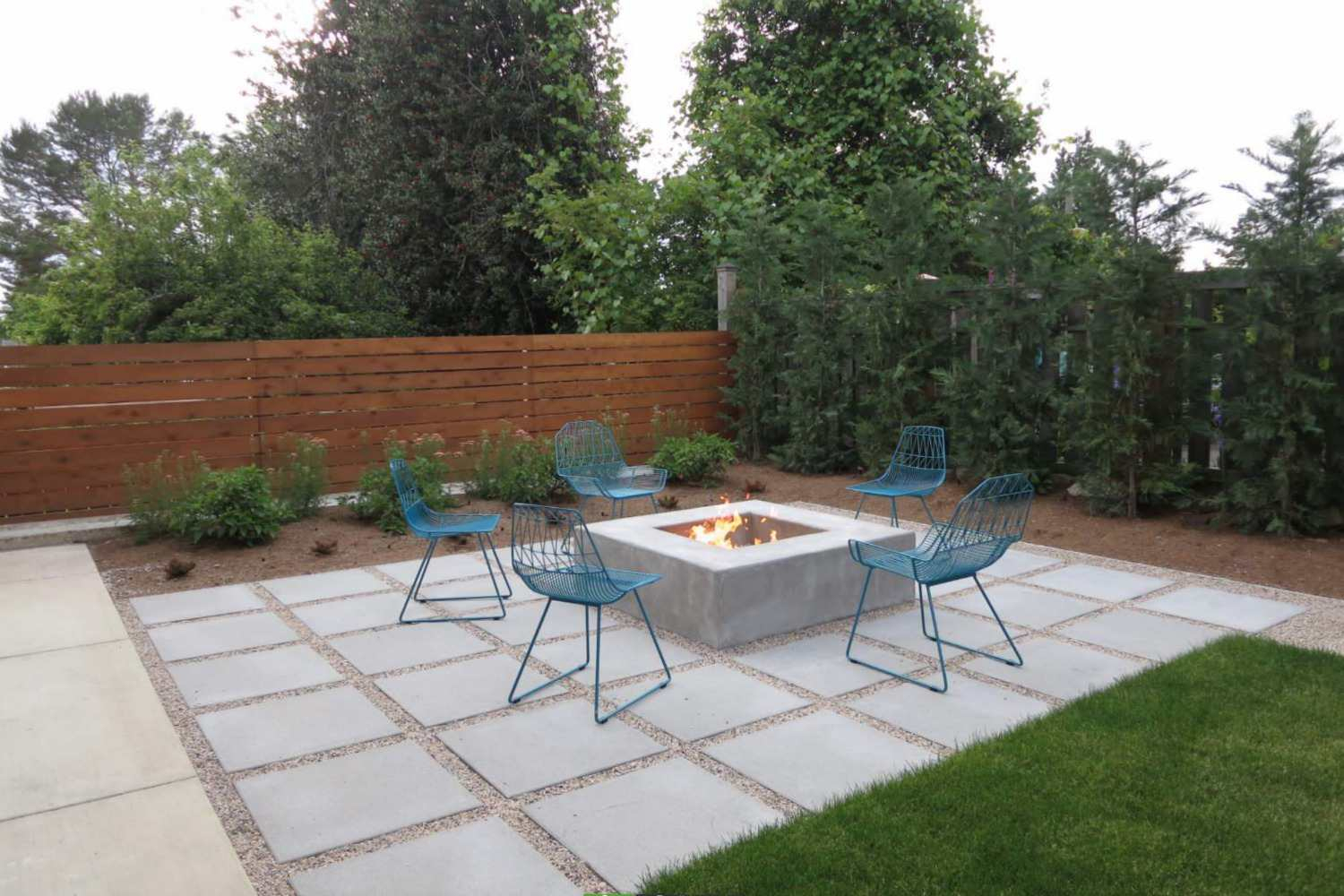 15 Beautiful Concrete Patio Ideas And Designs in 12 Genius Ways How to Make Backyard Cement Ideas