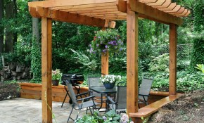 17 Free Pergola Plans You Can Diy Today with regard to 12 Awesome Initiatives of How to Upgrade Backyard Trellis Ideas