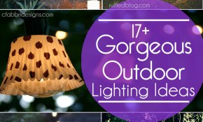 17 Outdoor Lighting Ideas For The Garden Scattered Thoughts Of A within 10 Awesome Initiatives of How to Make Outdoor Backyard Lighting Ideas