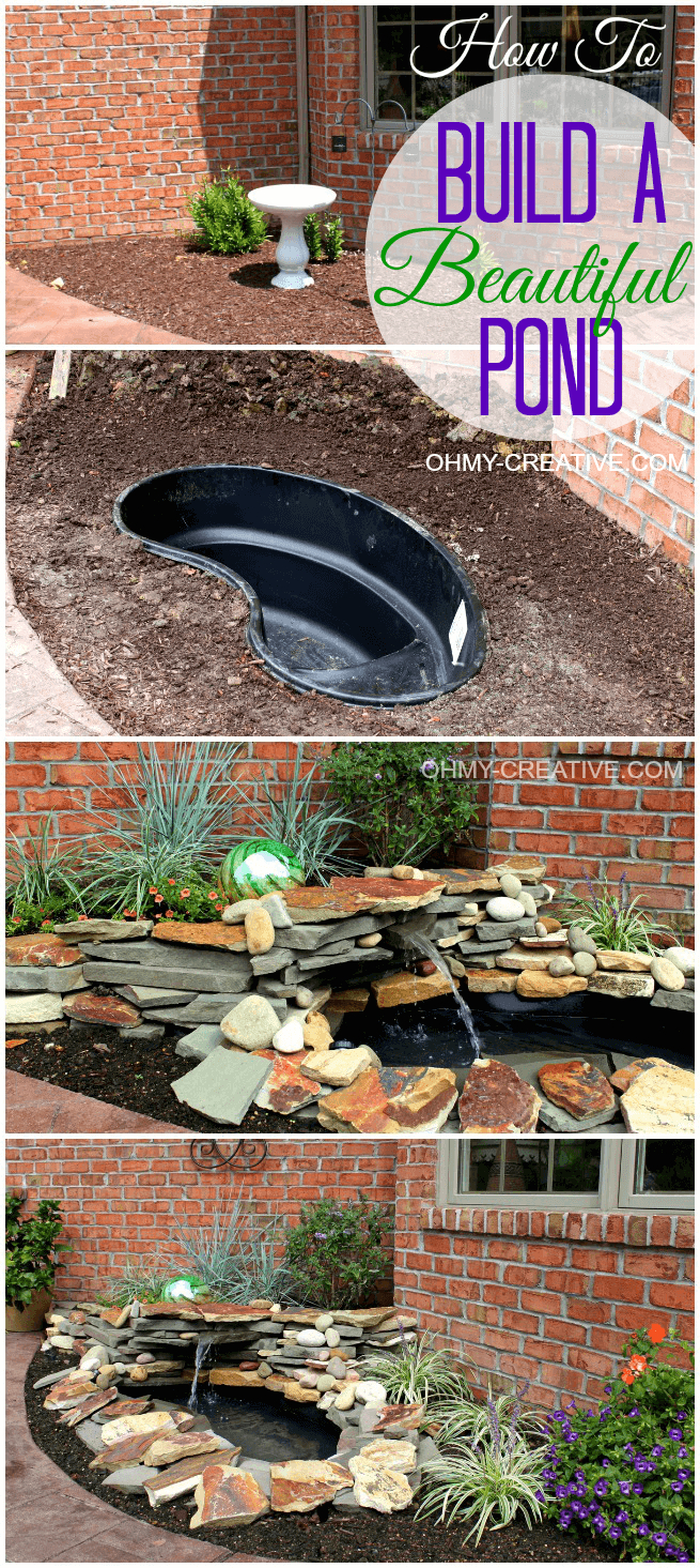 18 Attractive Diy Backyard Pond Ideas For Your Garden Diy Outdoor with 10 Genius Tricks of How to Improve Backyard Pond Ideas Small