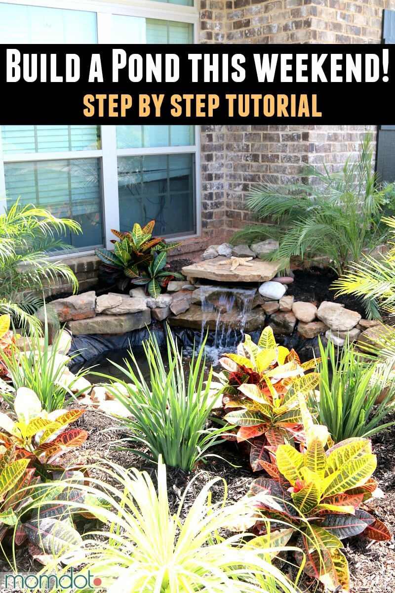 18 Best Diy Backyard Pond Ideas And Designs For 2019 in 10 Genius Designs of How to Make Ponds Ideas Backyard