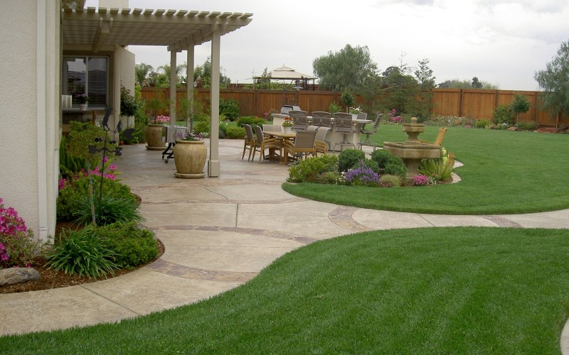 20 Awesome Landscaping Ideas For Your Backyard Gardensoutdoor intended for Landscaping A Large Backyard