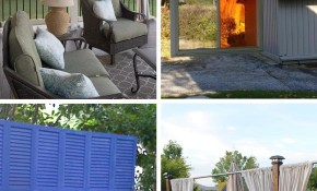 20 Outdoor Patio Privacy Screen Ideas Diy Tutorials regarding 11 Clever Initiatives of How to Craft Backyard Screen Ideas
