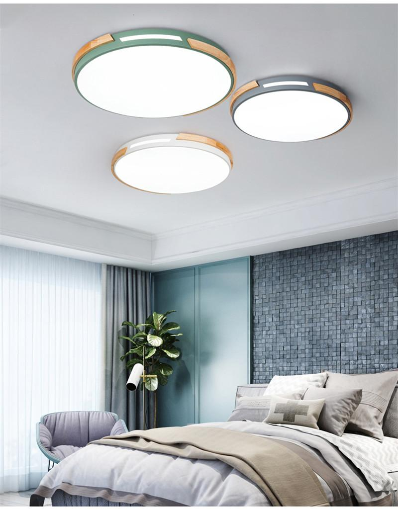 2019 Hollow Wood Art Bedroom Ceiling Light Nordic Lamp Modern within 11 Smart Concepts of How to Upgrade Bedroom Ceiling Lights Modern