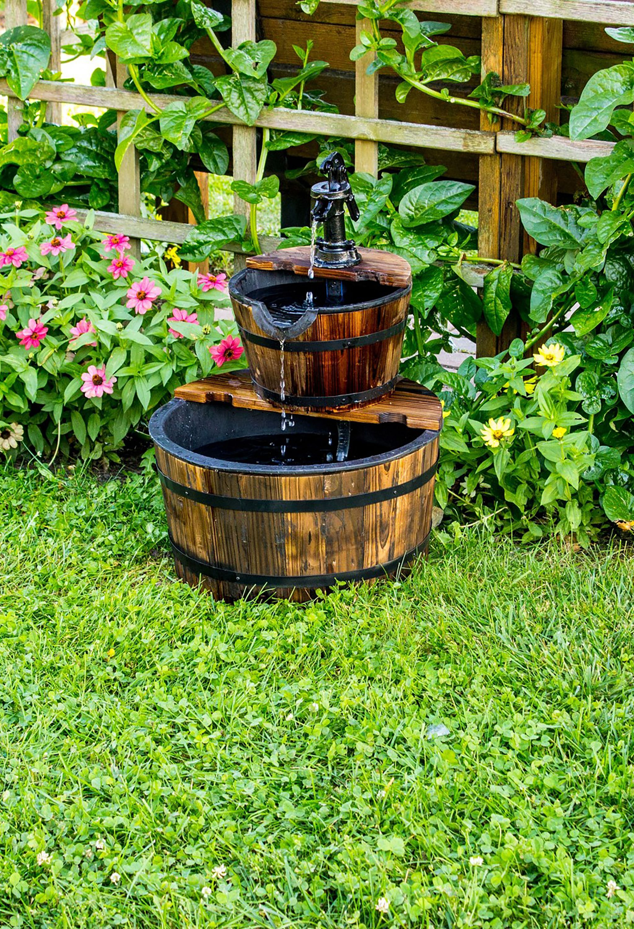 22 Outdoor Fountain Ideas How To Make A Garden Fountain For Your regarding 13 Smart Initiatives of How to Craft Backyard Water Fountains Ideas