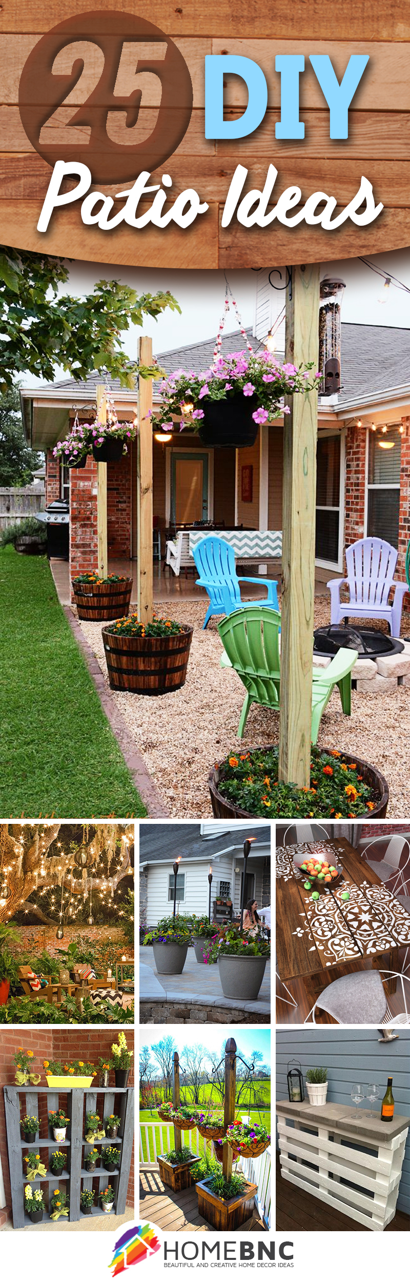 25 Best Diy Patio Decoration Ideas And Designs For 2019 pertaining to Decorating Backyard Ideas