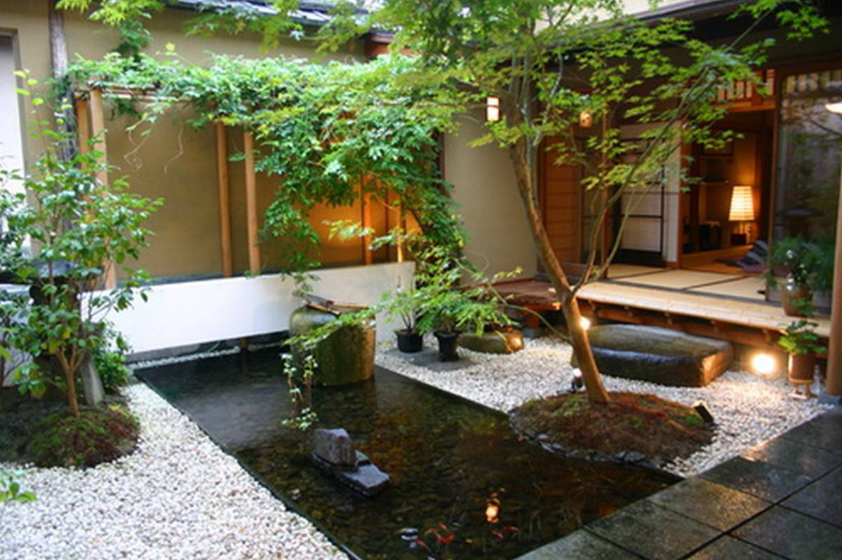 25 Decoration Landscape Small Garden Ideas With Koi Fish Pond And within Small Backyard Landscaping Designs