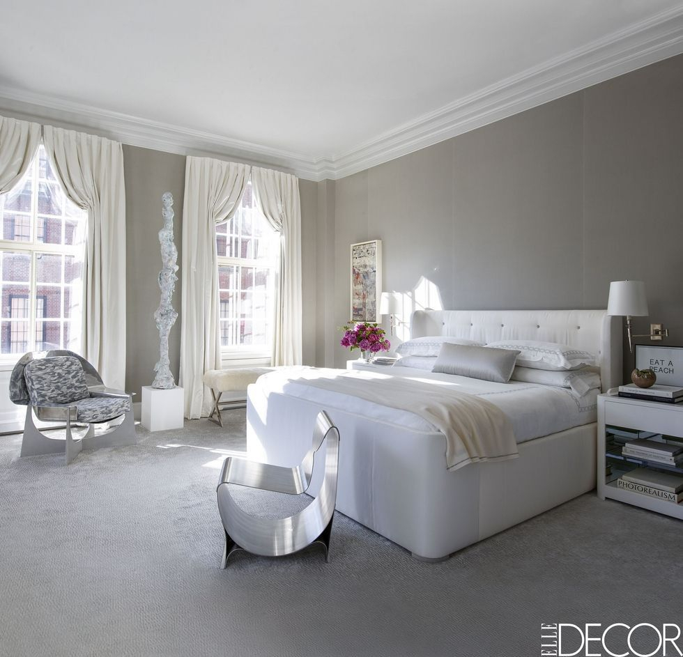25 Inspiring Modern Bedroom Design Ideas within White Modern Bedrooms