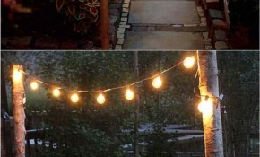 28 Stunning Diy Outdoor Lighting Ideas So Easy A Piece Of intended for Outdoor Backyard Lighting Ideas