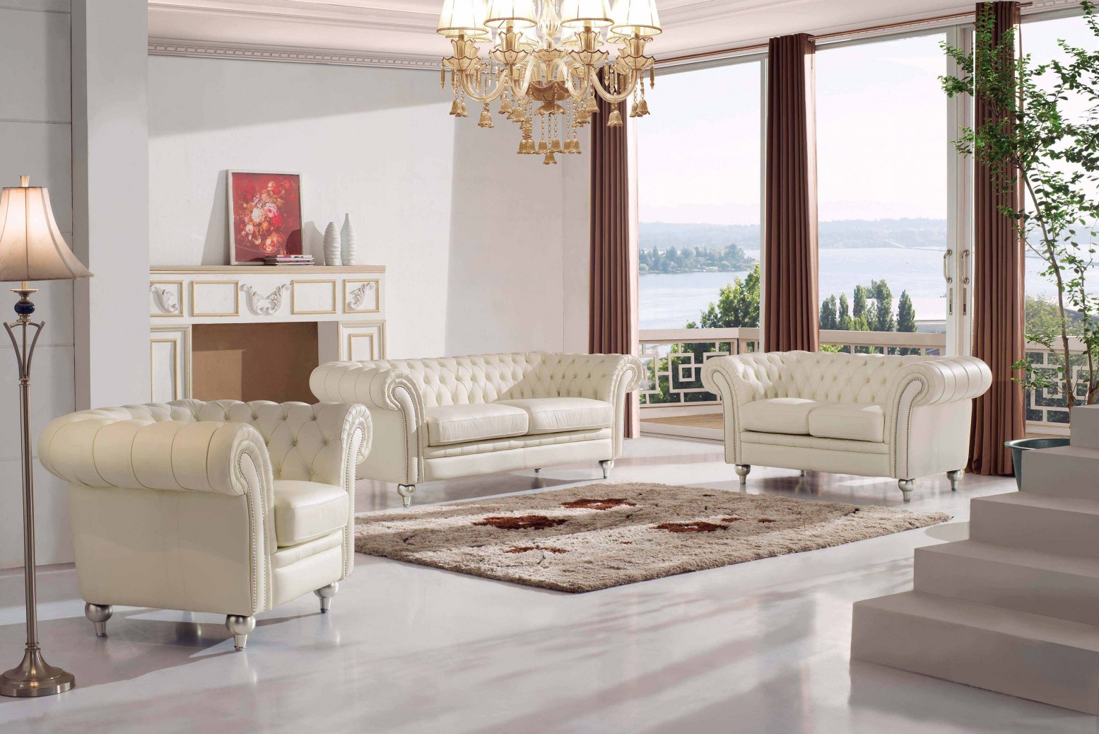 287 Living Room Set Esf Furniture Sohomod throughout 11 Clever Ways How to Build Living Room Set For Sale