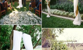 30 Sweet Ideas For Intimate Backyard Outdoor Weddings intended for 12 Genius Designs of How to Improve Backyard Wedding Ideas For Summer
