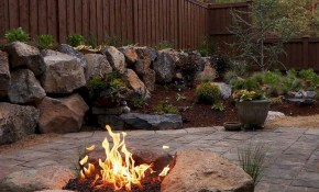 34 Simple And Cheap Fire Pit And Backyard Landscaping Ideas in 15 Smart Designs of How to Improve Backyard Landscaping Ideas With Fire Pit