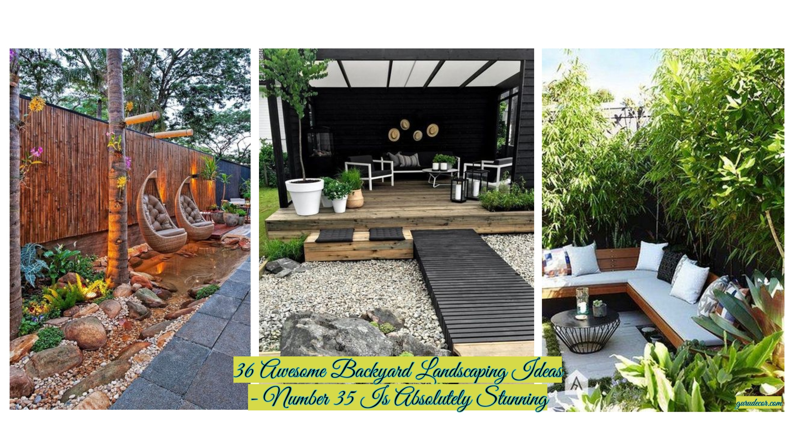 36 Awesome Backyard Landscaping Ideas Number 35 Is Absolutely with 15 Awesome Ways How to Improve Ideas For Backyards
