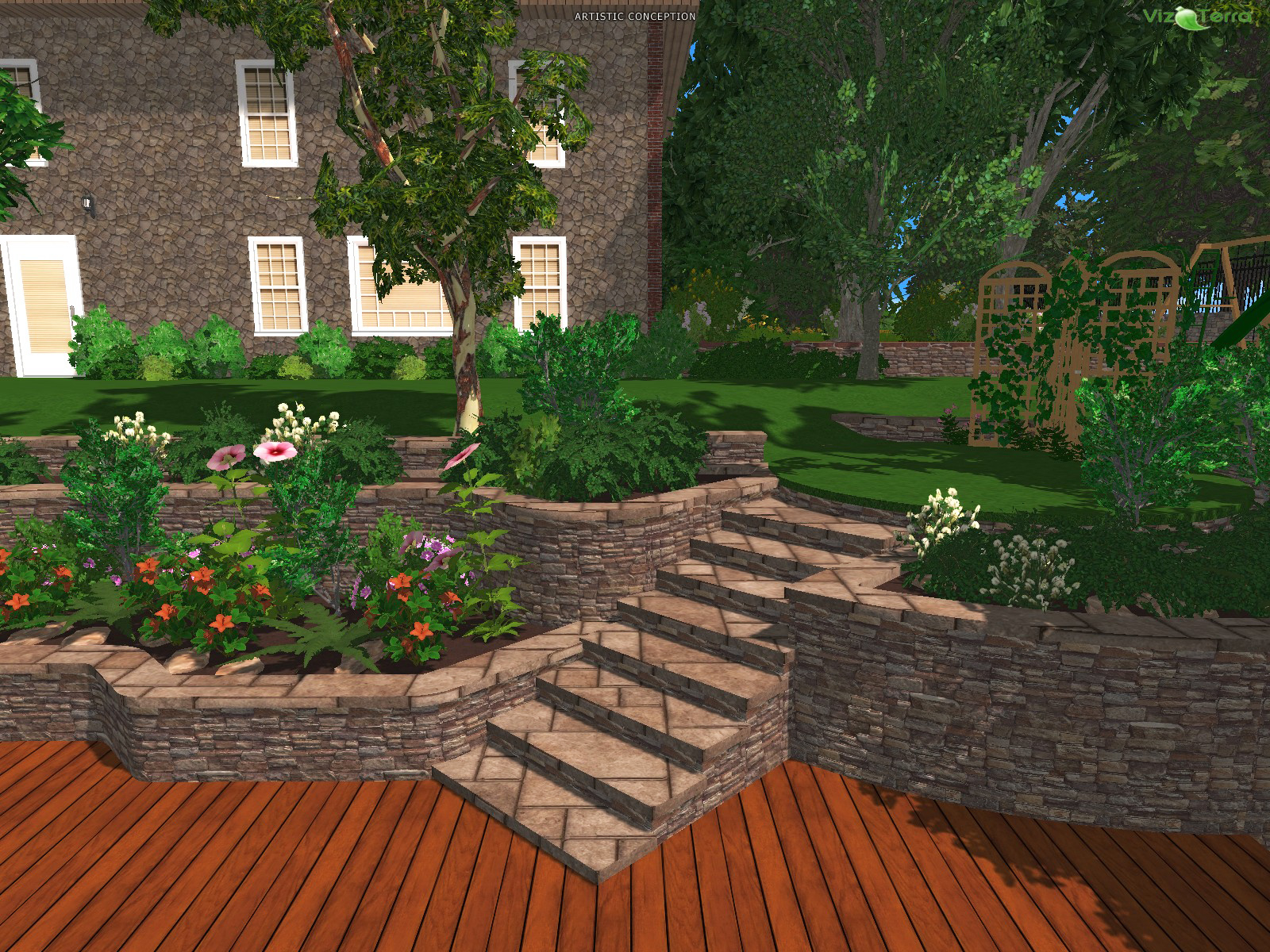 3d Landscape Design Software Landscape Ideas inside 13 Clever Ways How to Make Backyard Landscaping Software
