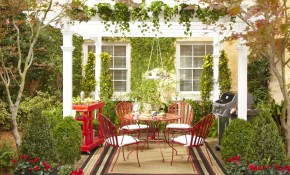 4 Stylish Outdoor Decorating Ideas Home Improvement Blog The Apron intended for Decorating Backyard Ideas