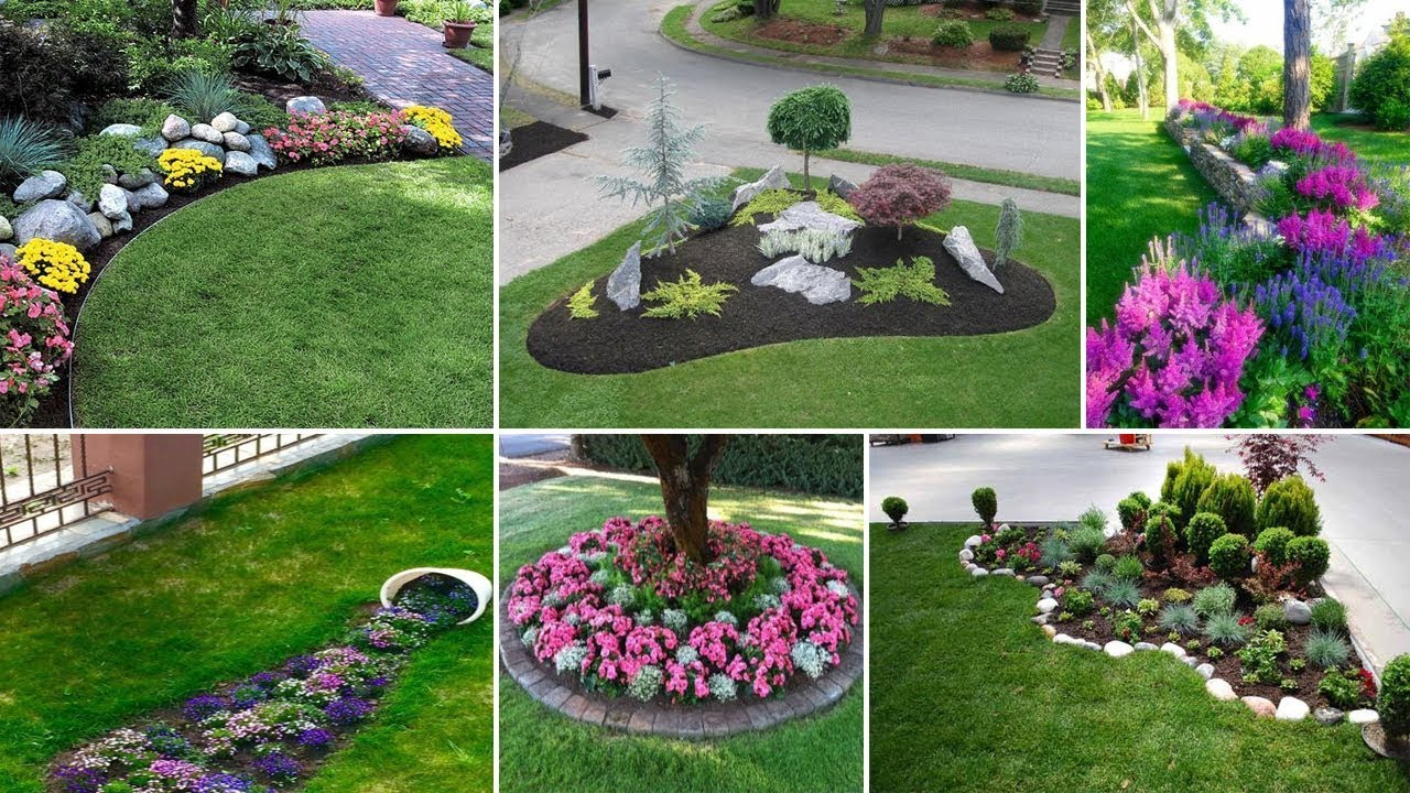 40 Awesome And Cheap Landscaping Ideas Youtube regarding Pictures Of Backyard Landscaping