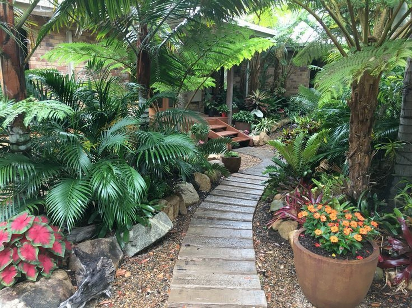 41 Tropical Landscape Design Ideas Wonderfulbackyard for 13 Smart Concepts of How to Improve Tropical Landscaping Ideas For Backyard