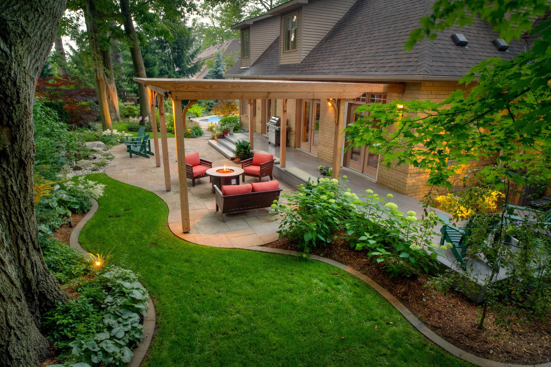 50 Backyard Landscaping Ideas intended for Backyard Pics Landscaping